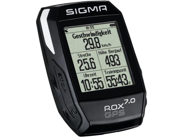 SIGMA SPORT ROX 7.0 GPS Fietscomputer, black